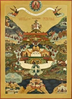 Икона Москва – Третий Рим
